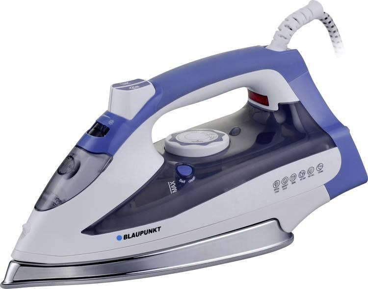 Blaupunkt HSI501 Stoomstrijkijzer Wit. Blauw 2600 W