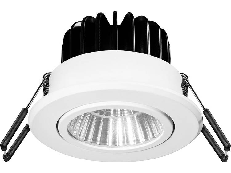 Barthelme 62403330 Inbouwlamp Energielabel: LED 12.50 W Koud-wit, Neutraal wit, Warm-wit Wit