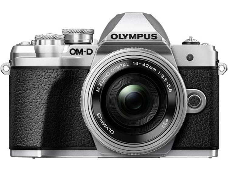 Digitale camera Olympus OM-D E-M10 Mark III Kit Incl. M 14-42 mm + 40-150 mm lenzen 17.2 Mpix Zilver