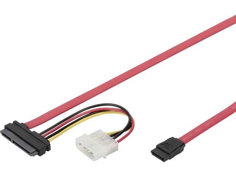 Digitus AK-400112-005-R SATA-kabel