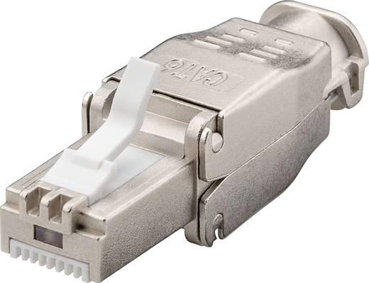 RJ45-connector, zonder gereedschap Stekker, recht CAT 6a TRU COMPONENTS 1610346 1 stuks