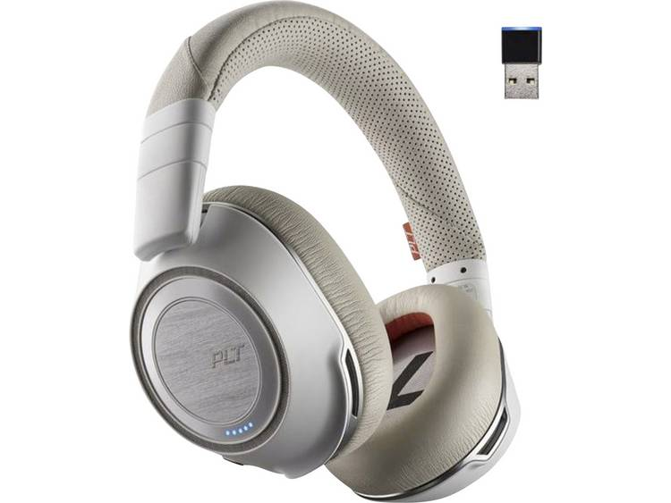 Plantronics 8200 UC Bluetooth Telefoonheadset Wit