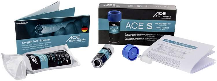 Drugstest-kit Speeksel ACE Kit S 100341 Detectie van (drugs)=Amfetamine. Cocaïne. Cocaïne. Methamfetamine. Opiaat. THC