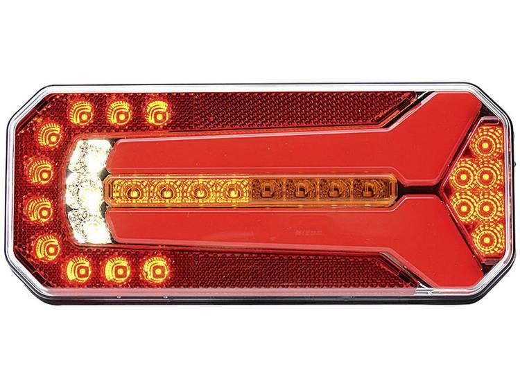 LED Aanhangerachterlicht Knipperlicht, Remlicht, Achterlicht, Achteruitrijlicht, Mistachterlicht achter, links, rechts 12 V, 24 V Meerdere kleuren WAS Helder
