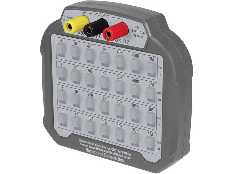 VOLTCRAFT R BOX 02 meet decade 60 V DC