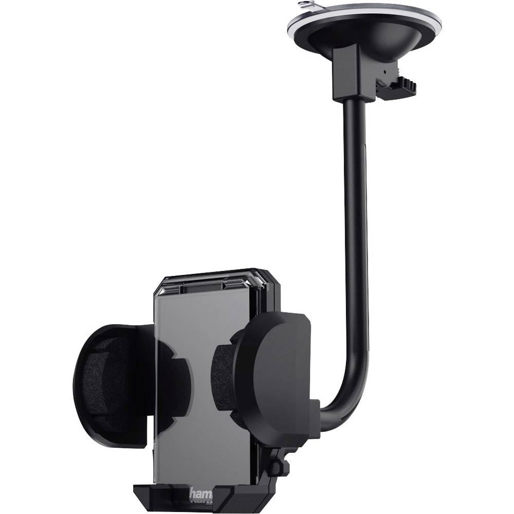 Zuignap Auto-telefoonhouder Hama 178291 360° draaibaar 40 110 mm