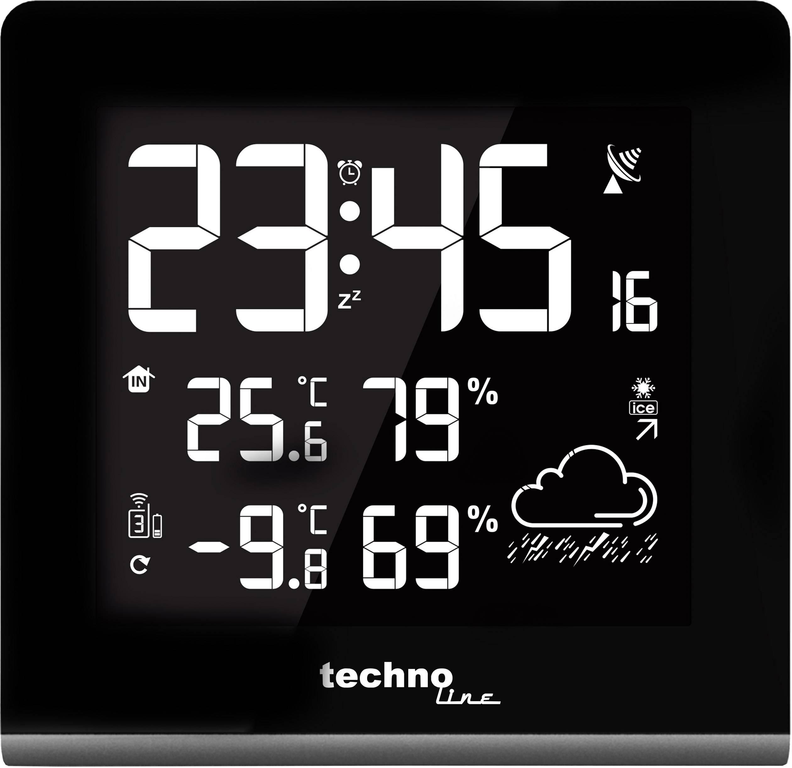 Conrad-Techno Line WS9065 WS9065 Draadloos weerstation-aanbieding