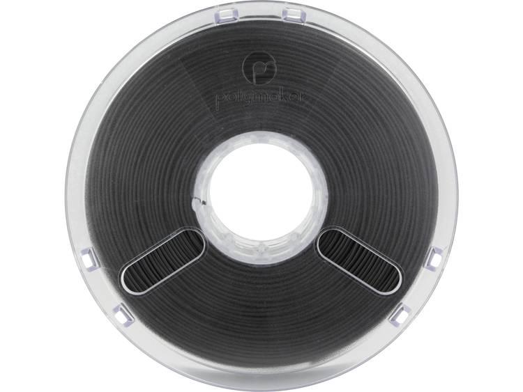 Filament Polymaker 1612102 PLA kunststof 1.75 mm Zwart 750 g
