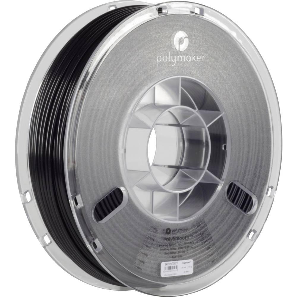 Polymaker 1612126 70523 3D-skrivare Filament 2.85 mm 750 g Svart PolySmooth 1 st