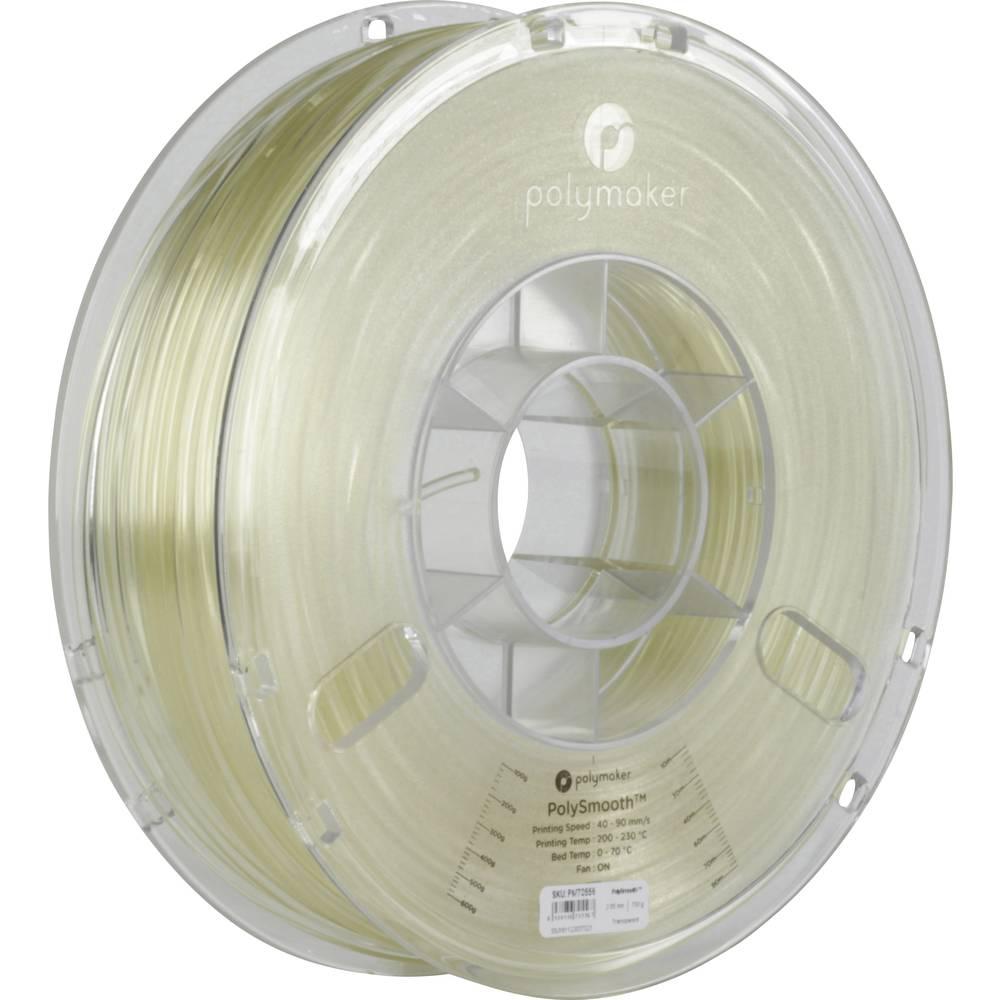 Polymaker 1612129 70556 3D-skrivare Filament 2.85 mm 750 g Genomskinlig PolySmooth 1 st
