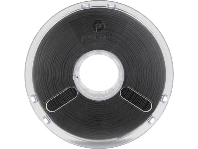 Filament Polymaker 1612131 PLA kunststof 2.85 mm Zwart 750 g