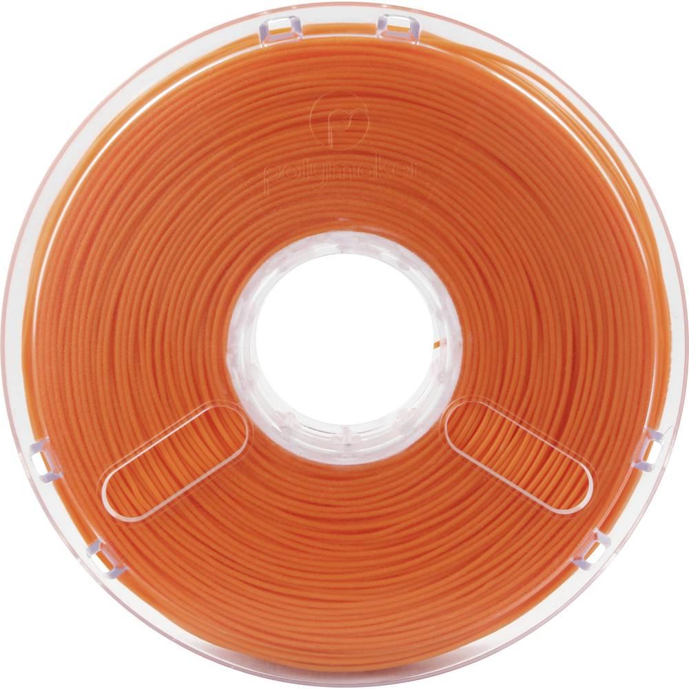 Polymaker 1612132 70112 3D-skrivare Filament PLA-plast flexibel 2.85 mm 750 g Orange PolyFlex 1 st