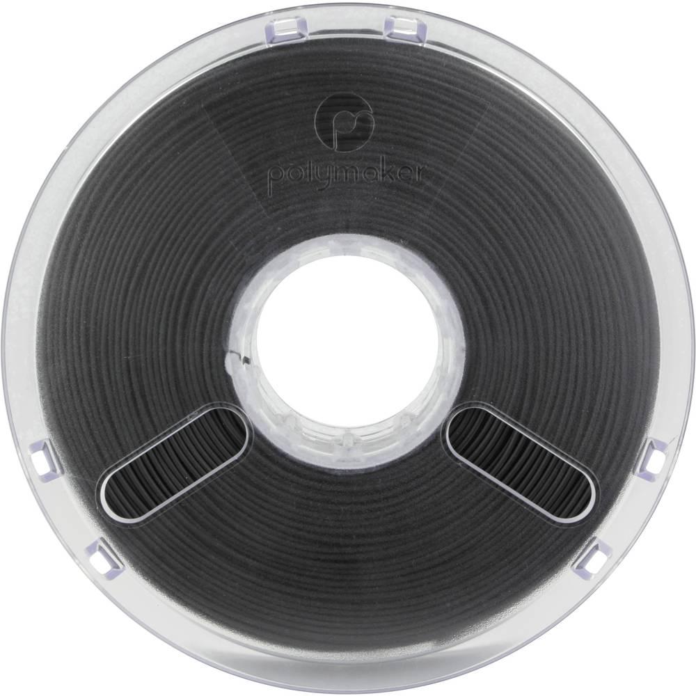 Polymaker 1612133 70111 3D-skrivare Filament PLA-plast flexibel 2.85 mm 750 g Svart PolyFlex 1 st