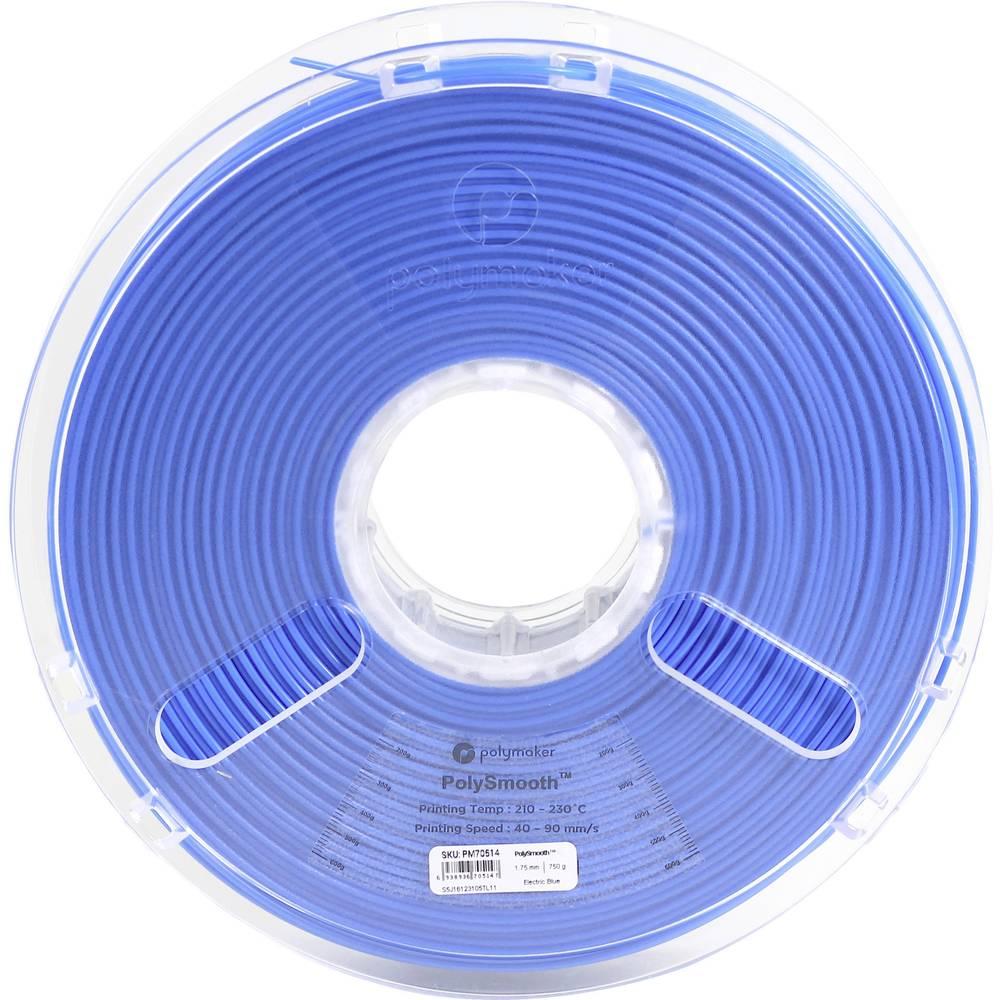 Polymaker 1612152 70514 3D-skrivare Filament 1.75 mm 750 g Blå PolySmooth 1 st