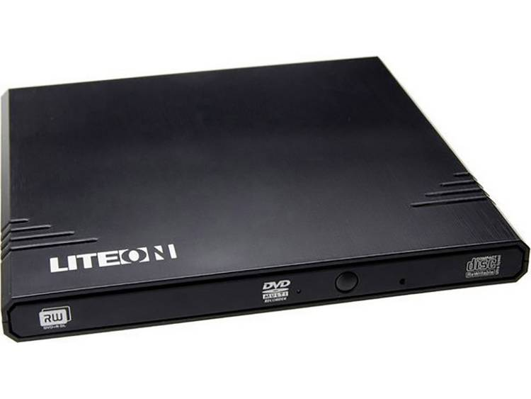 Lite-On Externe DVD-brander Retail USB 2.0 Zwart