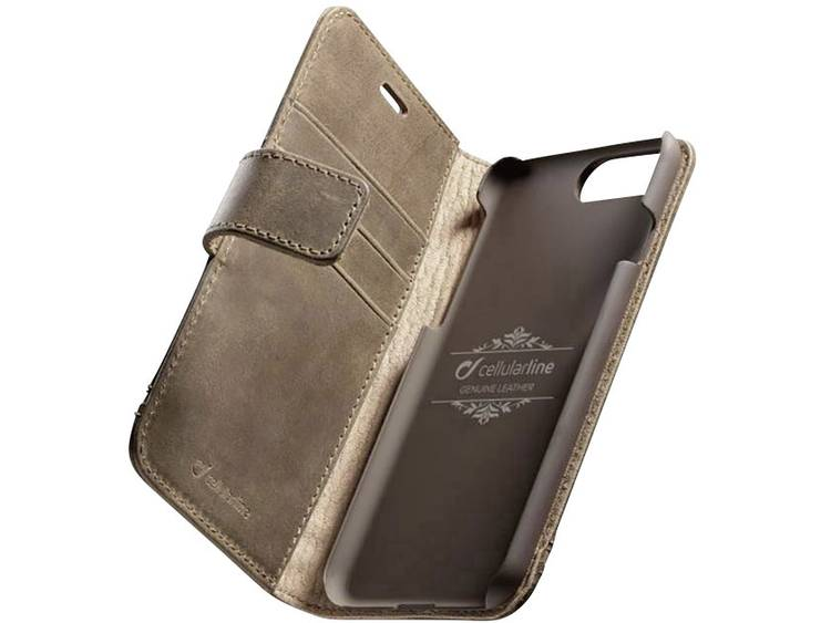Cellularline SUPREMECIPH755N iPhone Case Geschikt voor model (GSMs): Apple iPhone 7 Plus, Apple iPhone 8 Plus Bruin