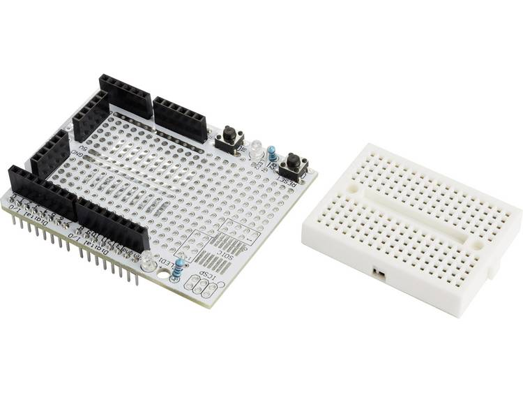 Makerfactory VMA201 Prototypingboard Geschikt voor (Arduino boards): Arduino, Arduino UNO, Fayaduino