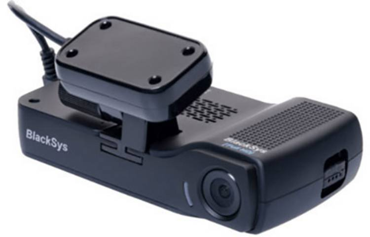 Image of BlackSys CH-200 Wifi Dashcam Dashcam met GPS Kijkhoek horizontaal (max.): 135  11.8 V Accu, Dualcamera, Microfoon, Rijstrookassistent, WiFi, Botswaarschuwing