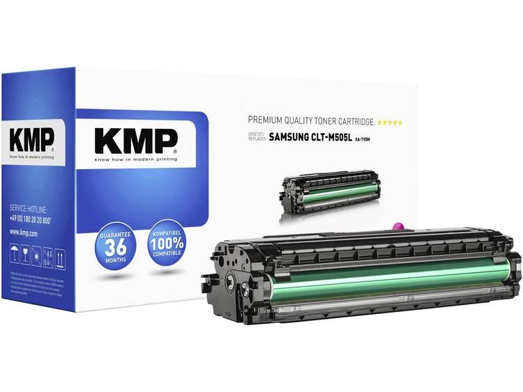 KMP Tonercassette vervangt Samsung CLT M505L Compatibel Magenta 3500 bladzijden