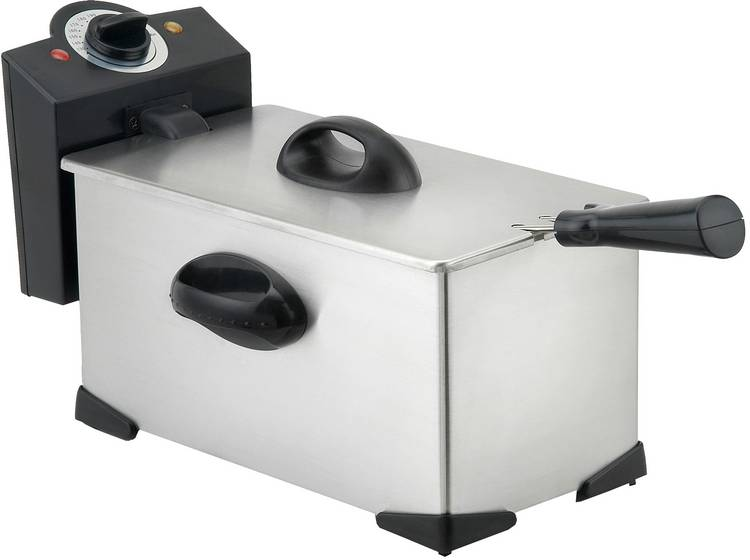 Image of Silva Homeline FR2503 Friteuse met koudezone 2000 W met handmatige temperatuursinstelling