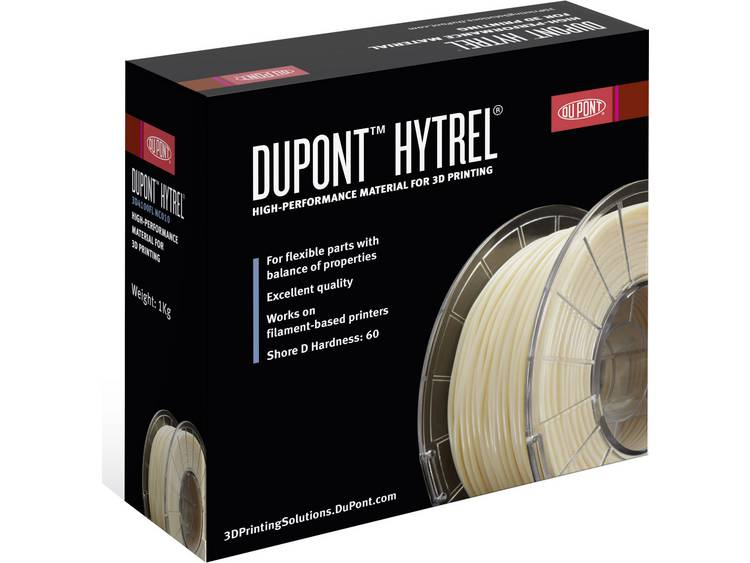 Filament DuPont Hytrel® 60D Shore TPE kunststof 2.85 mm Naturel 1 kg