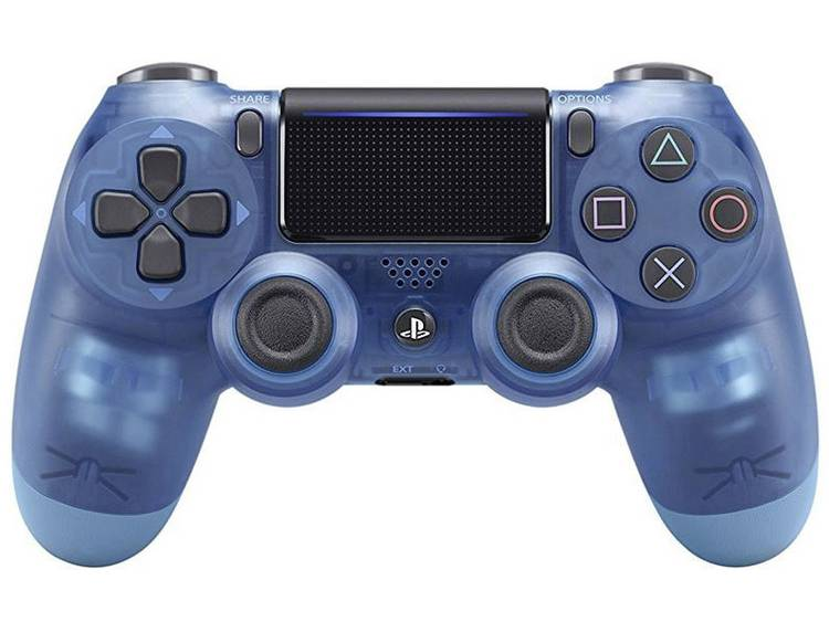Sony Computer Entertainment Dualshock 4 V2 Gamepad PlayStation 4 Blauw (transparant)
