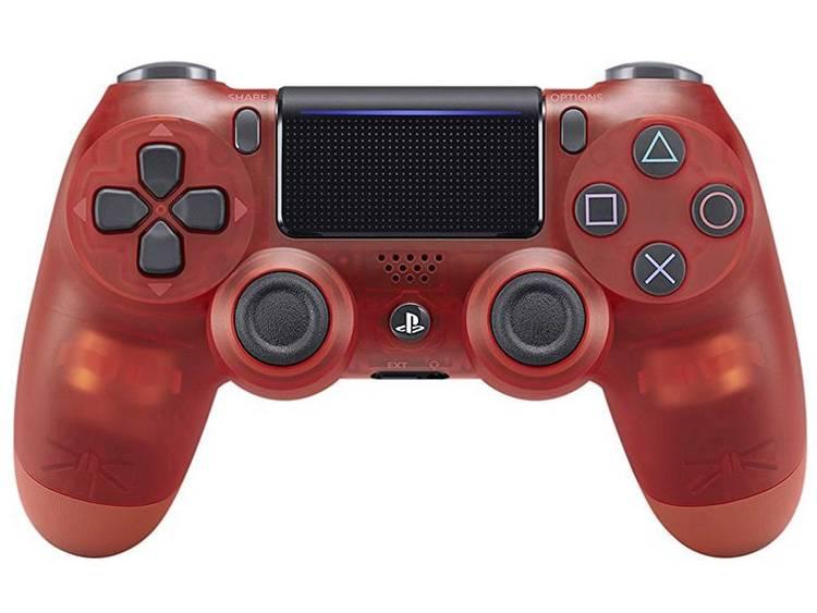Sony Computer Entertainment Dualshock 4 V2 Gamepad PlayStation 4 Rood (transparant)