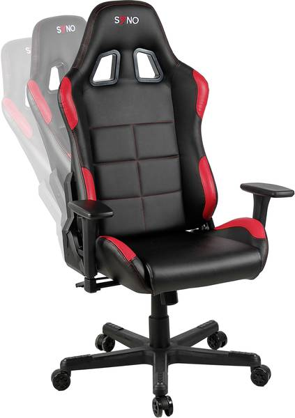 syno gaming bureaustoel | conrad.nl