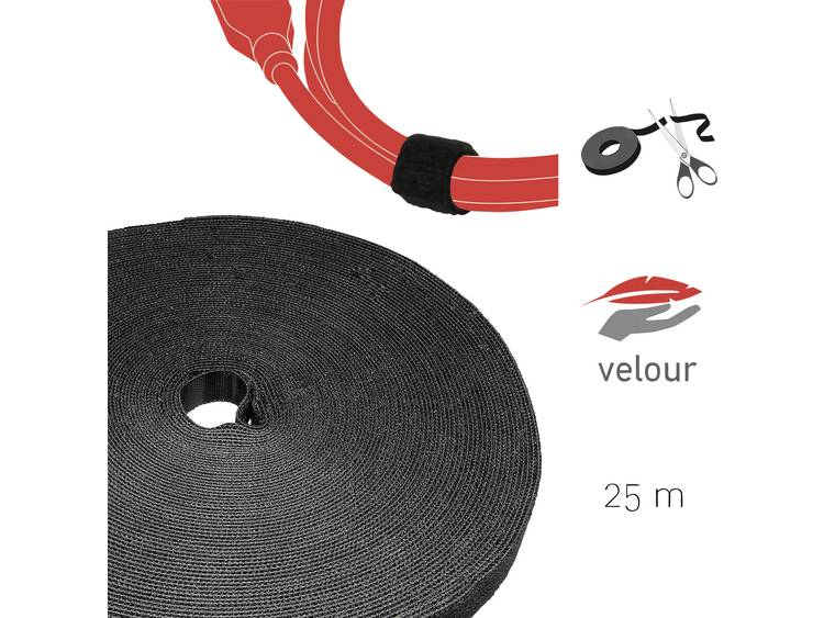 Label the Cable PRO 1210 19 inch Klittenband Zwart