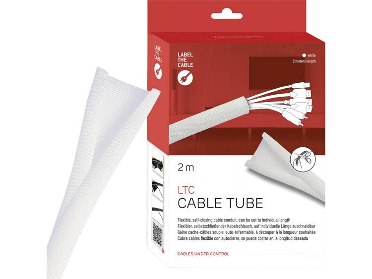 Label the Cable LTC 5120 19 inch Kabelslang Wit