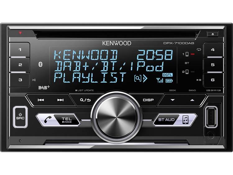 Kenwood DPX-7100DAB Autoradio dubbel DIN