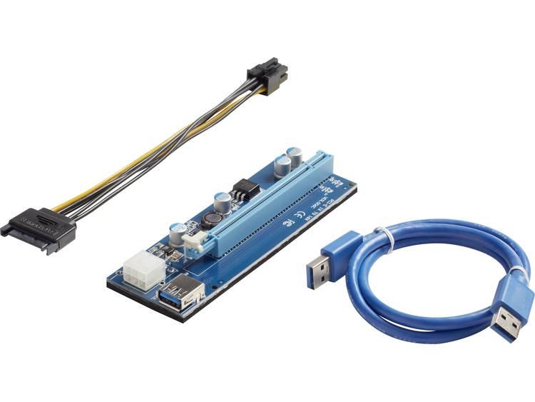 Renkforce PCIe x1/x16 Adapter opsteekkaart bitcoin