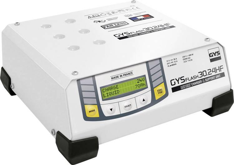 Druppellader GYS GYSFLASH 30.24 HF 6 V. 12 V. 24 V 30 A 30 A 30 A