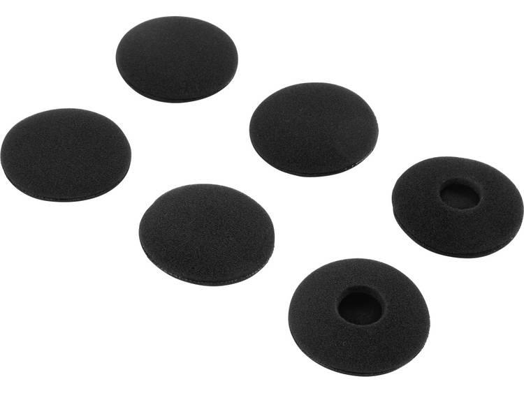 Renkforce On Ear Koptelefoon oorkussen 6 stuks 46 mm Zwart kopen
