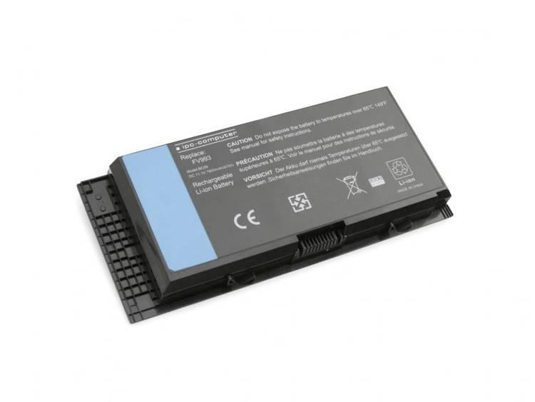 Laptopaccu ipc-computer Vervangt originele accu FV993, 451-11742, PG6RC, 9GP08, JHYP2, 451-12032, TN1K5, HPNYM, V7M28 11.1 V 7800 mAh