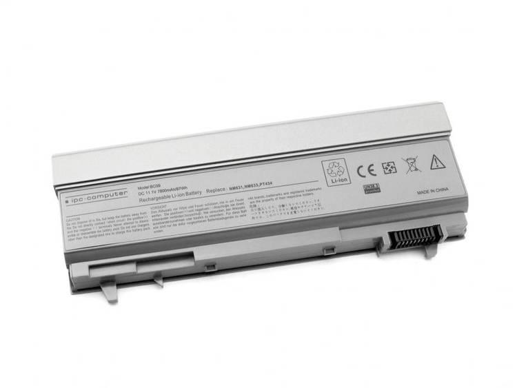 Laptopaccu ipc-computer Vervangt originele accu 312-0748, 312-0749, 312-0753, 312-0917, 4M529, 4TCMG, C2072, C719R, FU268 11.1 V 7800 mAh