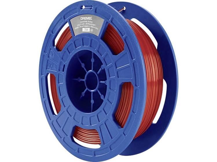 Filament Dremel 26153D03JB PLA kunststof 1.75 mm Rood 0.5 kg