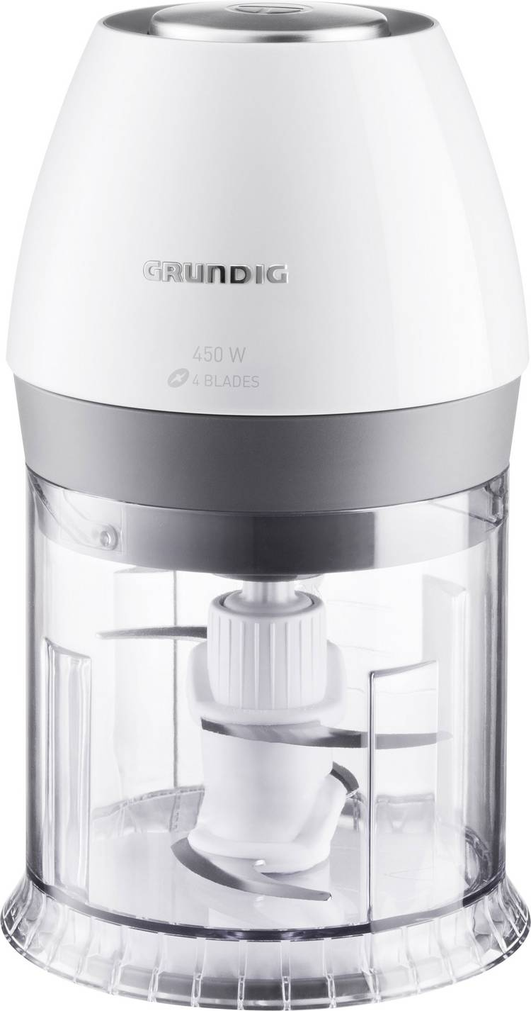 Grundig CJ 6280 w Citruspers 40 W Wit. Zilver