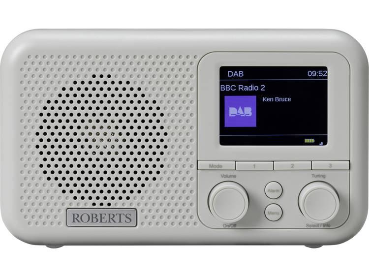 Roberts Play M4 Grey FM Wekkerradio AUX Grijs