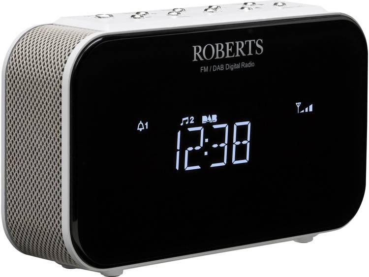 Roberts Ortus 1 FM Wekkerradio AUX Wit