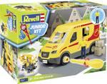 Bouwpakket Junior Kit pakketbezorgwagen met figuur