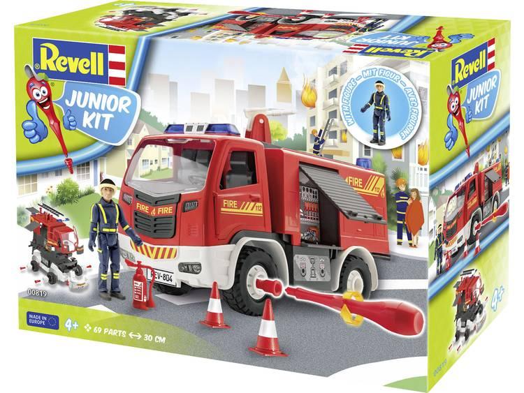 Revell 00819 Feuerwehr mit Figur Auto (bouwpakket) 1:20