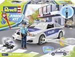 Bouwpakket Junior Kit politieauto met figuur
