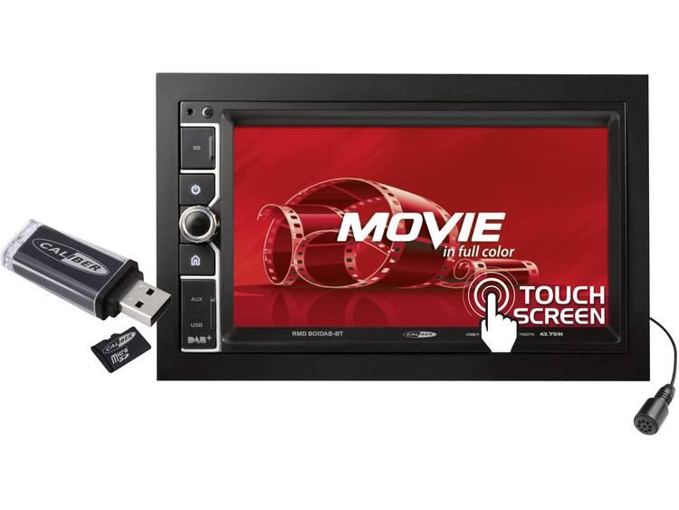 Caliber Audio Technology 801DAB-BT Autoradio met scherm dubbel DIN 4 x 75 W USB, microSD, Jackplug,