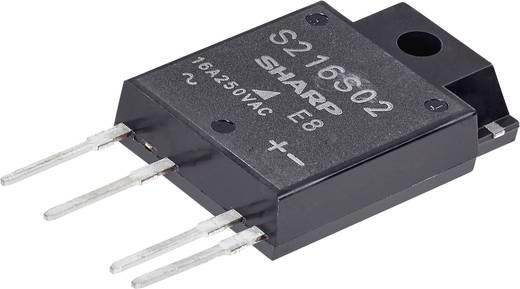 Sharp S 202 T02 Halfgeleiderrelais 1 stuks Laadstroom (max.): 2 A Schakelspanning (max.): 250 V/AC Schakelend bij overbe