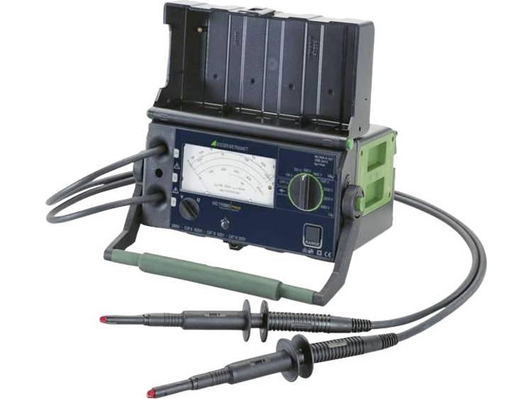 Gossen Metrawatt METRISO PRIME Isolatiemeter 100 V 250 V 500 V 1000 V 1500 V