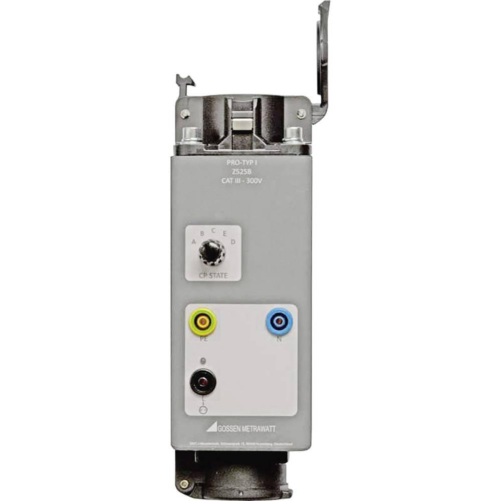 Gossen Metrawatt Z525B PRO-TYP I Mätadapter Testadapter PRO-TYP I för E-laddningsstation 1 st