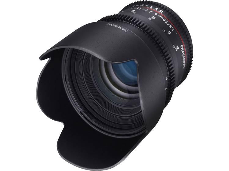 Samyang Standaard lens f/22 – 1.5 50 mm