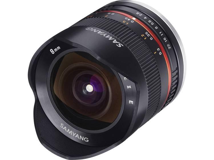 Samyang Fisheye-lens f/22 – 2.8 8 mm