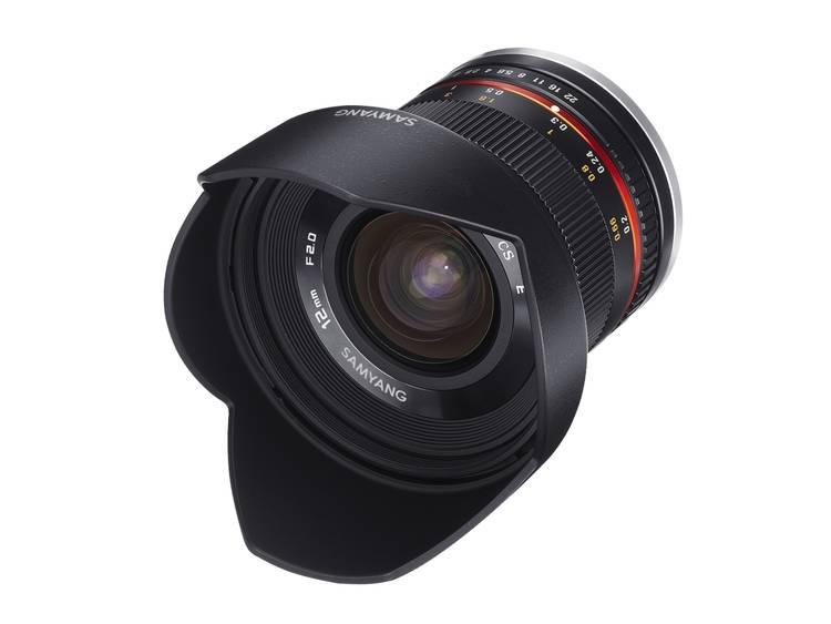 Samyang Breedhoeklens f/22 – 2 12 mm